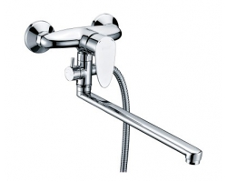 Смеситель для ванны с длинным изливом Wasser Kraft Leine 3502L