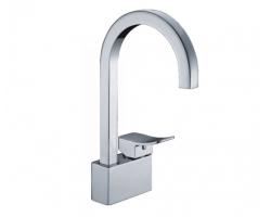 Смеситель для кухни с поворотным изливом Wasser Kraft Aller 1067