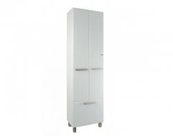 Шкаф-колонна Акватон Альтаир 50 50 см. 1A041803AR010 (белая, с бельевой корзиной)