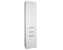 Шкаф-колонна Акватон Америна 34 см. 1A135203AM010 (белая, с бельевой корзиной)
