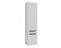 Шкаф-колонна Акватон Ария М 34 см. 1A124403AA010 (белая, подвесная, с бельевой корзиной)
