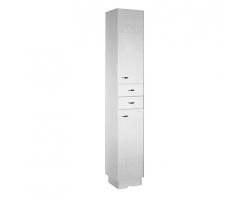Шкаф-колонна Акватон Аттика 32 см. 1A134803AT010 (белая)