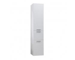 Шкаф-колонна Акватон Инди 34 см. 1A188603ND010 (белый, с бельевой корзиной)