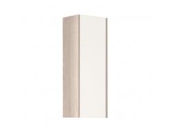 Шкаф подвесной Акватон Йорк 30 см. 1A171403YOAV0 (белый-ясень фабрик, подвесной, одностворчатый)