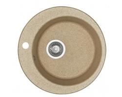 Кухонная мойка Акватон Иверия 1A711032IV220 Ø 480 мм. (песочный)