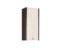 Шкаф подвесной Акватон Крит 35 см. 1A163603KT50L (венге-белый, подвесной, левый, одностворчатый)