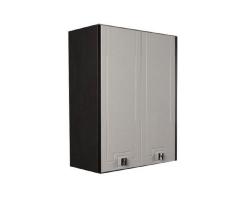 Шкаф подвесной Акватон Крит 65 см. 1A163503KT500 (венге-белый, подвесной, двухстворчатый)