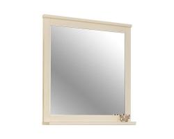 Зеркало Акватон Леон 80 80 см. 1A186402LBPR0 (дуб бежевый)