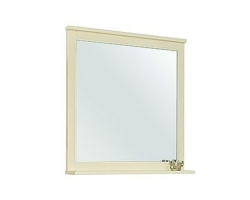 Зеркало Акватон Леон 65 65 см. 1A187102LBPR0 (дуб бежевый)