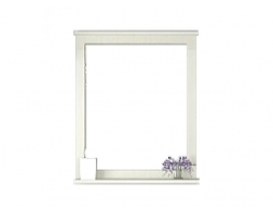 Зеркало Акватон Леон 65 65 см. 1A187102LBPS0 (дуб белый)