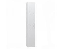 Шкаф-колонна Акватон Лиана 30 см. 1A163003LL01L (белая, подвесная)