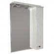 Зеркало-шкаф Акватон Лиана 65 65 см. 1A166202LL01R (белое, правое)