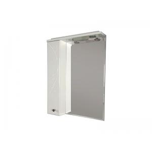 Зеркало-шкаф Акватон Лиана 65 65 см. 1A166202LL01L (белое, левое)