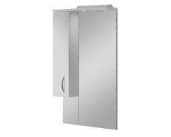 Зеркало Акватон Марсия 67 65 см. 1A007502MS01L (белое, левое)