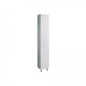 Шкаф-колонна Акватон Минима М 32 см. 1A132303MN01R (белая, правая, с бельевой корзиной)