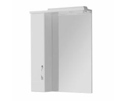 Зеркало-шкаф Акватон Онда 58 см. 1A009802ON01L (белое, левое)