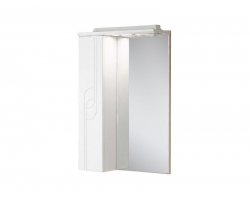 Зеркало-шкаф Акватон Панда 50 50 см. 1A007402PD01L (белое, левое)
