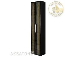 Шкаф - колонна Акватон Мурано ( чёрная )