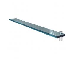 Полка стеклянная Акватон 100 100 см. 1A121903TU950 (чёрный глянец)