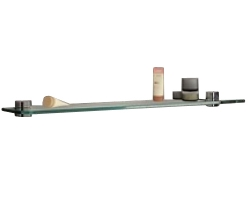 Полка стеклянная Акватон Севилья 80 80 см. 1A124803SE010