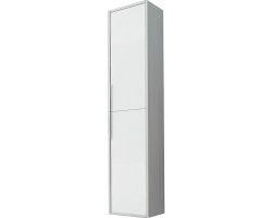 Шкаф-колонна Акватон Рико 30 см. 1A216603RIB90 (белая-ясень фабрик, подвесная)