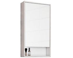 Зеркало-шкаф Акватон Рико 50 51 см. 1A212302RIB90 (белое-ясень фабрик)