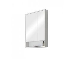 Зеркало-шкаф Акватон Рико 65 65 см. 1A215202RIB90 (белое-ясень фабрик)