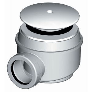 Сифон для душевого поддона AlcaPlast A47B-60 (белый)