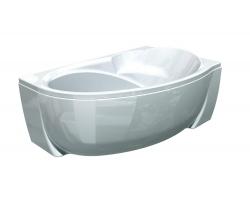 Ванна акриловая Акватек Бетта 160 160х97 см. (правая)
