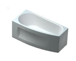 Ванна акриловая Акватек Пандора 160 160х75 см. (левая)
