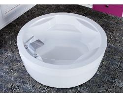 Ванна из стекловолокна по технологии PFI Астра-Форм Аврора 186 186 см.
