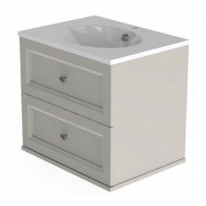 Тумба Астра-Форм Классик 90 900х520 (белый глянец, два ящика)