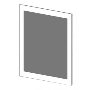 Зеркало Астра-Форм Рубин 70 680х700 (белый глянец)