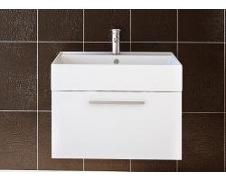 Тумба Астра-Форм Соло 50 500х450 (белый глянец, 1 ящик и внутренняя полочка)
