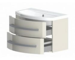 Тумба Астра-Форм Венеция 80 800х530 (белый глянец, два ящика)