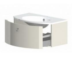 Тумба Астра-Форм Венеция 100 1000х530 (белый глянец, один ящик)