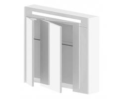 Зеркало-шкаф Астра-Форм Венеция 80 820х700 (белый глянец)