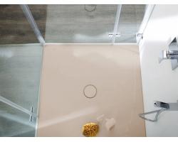 BETTE Душевой поддон 90х90см, с отв-м слива d=90мм, с шумоизоляцией и ножками, цвет bahama beige    спросить у менеджера !!!В НАЛИЧИИ!!!
