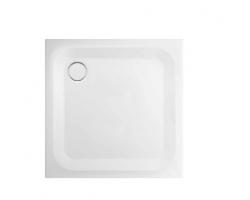 BETTE Душевой поддон квадратный 80х80 см, D 90 мм глубина 2,5см, цвет белый