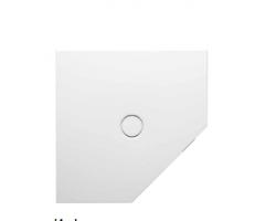 BETTE Floor Caro Душевой поддон пятиугольник 100х100 см, D=90 мм, с шумоизоляцией,цвет белый