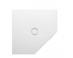 BETTE Floor Caro Душевой поддон пятиугольник 90х90 см, D=90 мм, с шумоизоляцией,цвет белый