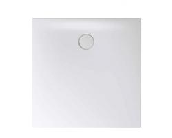BETTE Floor Side Душевой поддон квадратный 100х100хh6,5см, D 90 мм, цвет белый