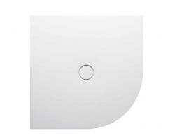 BETTEFloor Сorner Поддон с закругленным углом 100х100 см, D90 см,с шумоизоляцией, цвет белый
