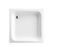 BETTELNTRA Душевой поддон квадратный 80х80хh15см, D52мм,белый, цвет белый