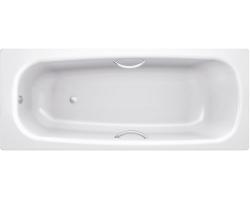 Стальная ванна BLB Universal HG B55H 150х75 (с отверстиями под ручки)