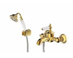 Смеситель для ванны с душевым комплектом Bravat Art F675109U-B