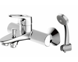 Смеситель для ванны c душевым комплектом Bravat Drop-D F648162C-B-RUS