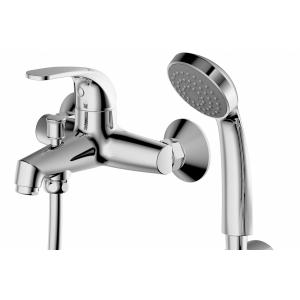 Смеситель для ванны с душевым комплектом Bravat Fit F6135188CP-B-RUS FIT