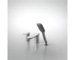 Смеситель для ванны на 3 отверстия Bravat Gina F565104C-2-ENG