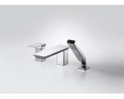 Смеситель для ванны на 3 отверстия Bravat Phillis F556101C-2-ENG